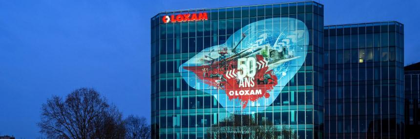 LOXAM célèbre ses 50 ans avec JCDecaux Artvertising